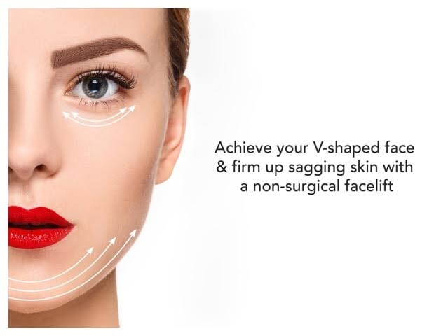 Non-Invasive Dissolvable Threadlifts: Non-Invasive Facelifts for V-Shaped Face | LS Aesthetic Clinic