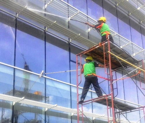 External Glass Cleaning