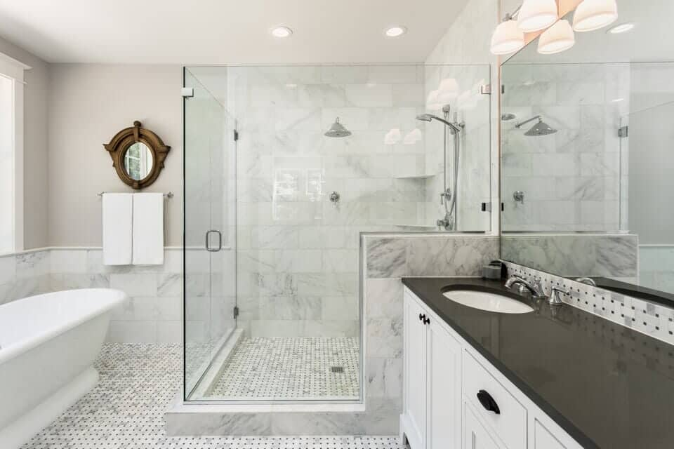 bathroom ceramic tile refinishing