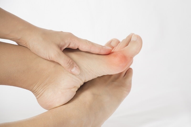Ganglion Cysts on the Foot