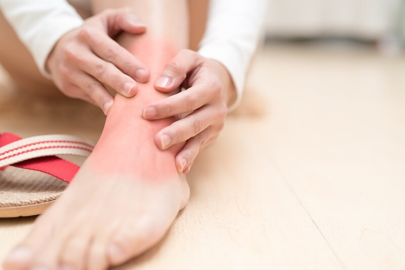Treatment of Chronic Ankle Pain