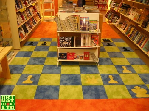 WOOL CARPET (BOOKSHOP)