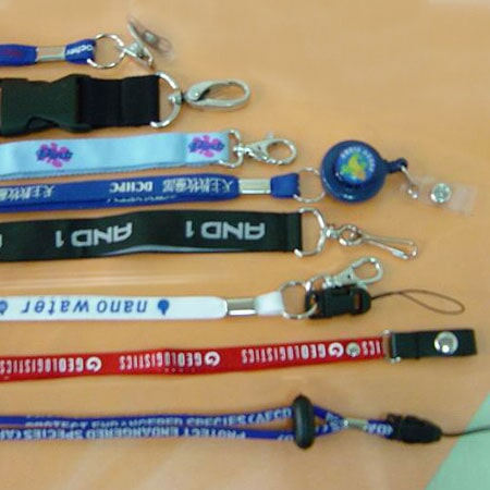We manufacture different kinds of lanyard