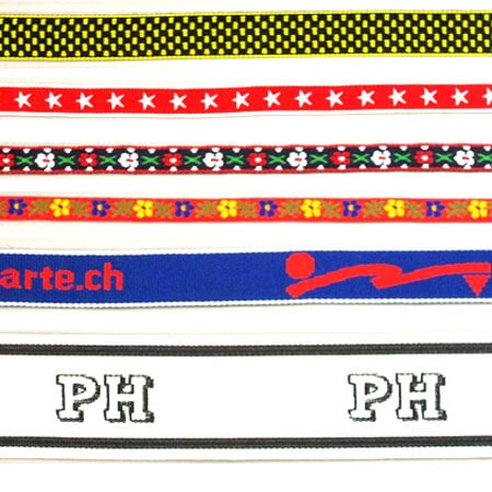Embroidery tapes